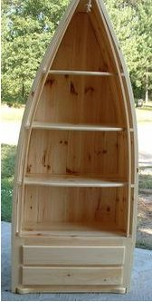 Wood Boat Shelf Furniture at Henry's Woodworking Products ...