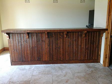 Rough Sawn Bar Henryu0027s Woodworking Pine River MN