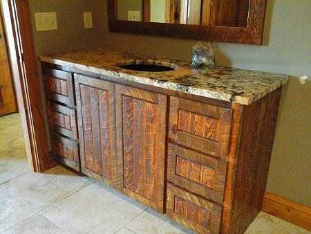 Superieur Rough Sawn Cabinet Henryu0027s Woodworking Pine River MN